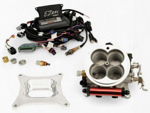 Fast Fuel Systems Fast Fuel Systems Ez-efi Self Tuning Fuel Injection System Kit Jeep 6 Cylinder - 30294-kit 30294-kit Fuel Injection Kits