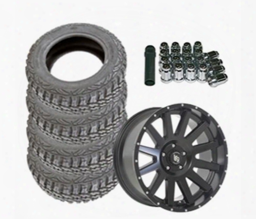 Genuine Packages Pro Comp Xtreme Mt2 37x12.50r20 And Lrg Rims Lrg107 20x9 Wheel Package - Set Of 4 - Tirepkg181 Tirepkg181 Tire And Wheel Packages
