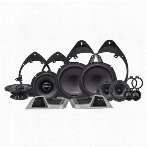 Alpine Alpine 3-way Speaker System For Chevy Silverado & Gmc Sierra - Spt-31gm Spt-31gm Speakers