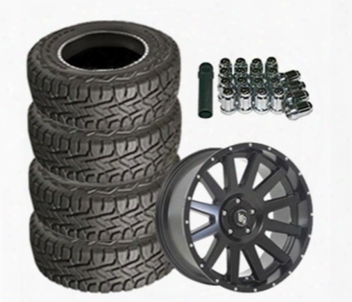 Genuine Packages Toyo Open Country R/t 35x12.50r20 And Lrg Rims Lrg107 20x9 Wheel Package - Set Of 4 - Tirepkg186 Tirepkg186 Tire And Wheel Packages
