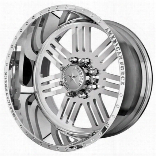 American Force Wheels American Force 22x10 Wheel Rush Ss - Polish- Aft41057 Aft41057 American Force Wheels