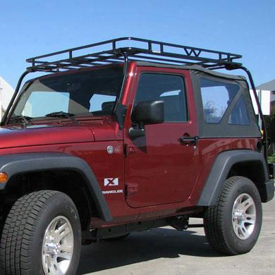 Garvin Industries Garvin Industries Overhead Expedition Rack For Jk Wrangler - 44072 44072 Roof Rack