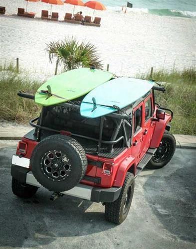 Jeep Backbone Jeep Backbone Adventure Rack - Ar-jk Ar-jk Roof Rack