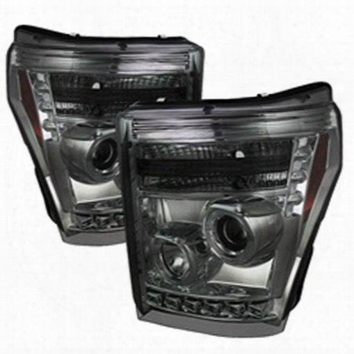 Spyder Auto Group Spyder Auto Group Halo Led Projector Headlights - 5070289 5070289 Headlights, Housings And Conversions