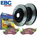 EBC Brakes EBC Brakes Stage 3 Truck and SUV Brake Kit - S3KF1166 S3KF1166 Disc Brake Pad and Rotor Kits