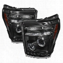 Spyder Auto Group Spyder Auto Group Halo LED Projector Headlights - 5070272 5070272 Headlights, Housings and Conversions