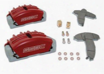 Stainless Steel Brakes Stainless Steel Brakes Quick Change Tri-power 3-piston Calipers - A189-2bk A189-2bk Disc Brake Caliper Upgrade