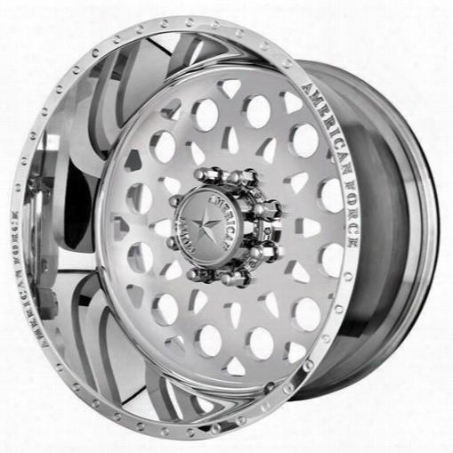 American Force Wheels American Force 22x10 Wheel Conflict Ss - Polish- Aft41249 Aft41249 American Force Wheels