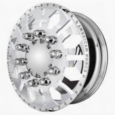 American Force Wheels American Force 22x14 Wheel Diamond Ss - Polish- Aft61345 Aft61345 American Force Wheels