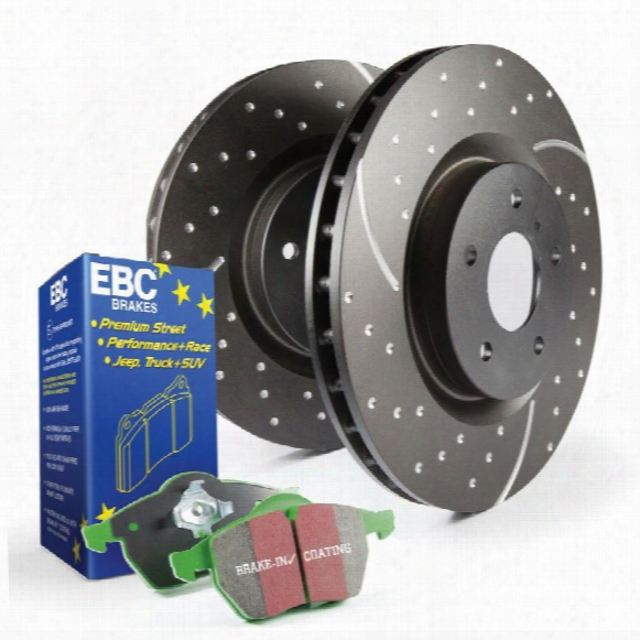 Ebc Brakes Ebc Brakes S3 Kits Greenstuff 6000 And Gd Rotors Truck And Suv - S3kf1200 S3kf1200 Disc Brake Pad And Rotor Kits