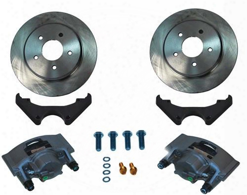 Stainless Steel Brakes Big Brake Front Conversion Kit A189-7 Disc Brake Conversion Kits