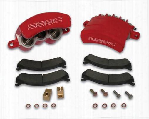 Stainless Steel Brakes Stainless Steel Brakes Quick Change Tri-power Hd 3-piston Calipers - A189-3 A189-3 Disc Brake Caliper Upgrade