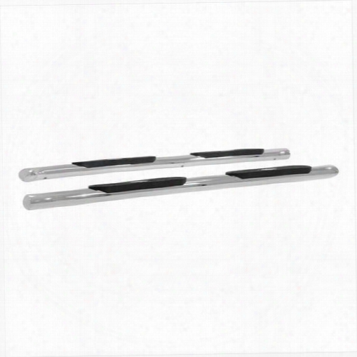 Aries Offroad Aries Offroad The Standard 4 Inch Oval Nerf Step Bars (stainless Steel) - S224009-2 S224009-2 Nerf Steps