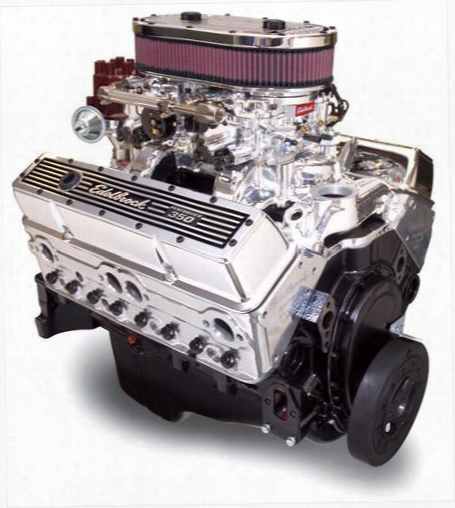 Edelbrock Edelbrock Performer Rpm Air-gap Dual Quad 350 Cid Crate Engine 90 1 Compression - 45014 45014 Performance And Remanufactured Engines