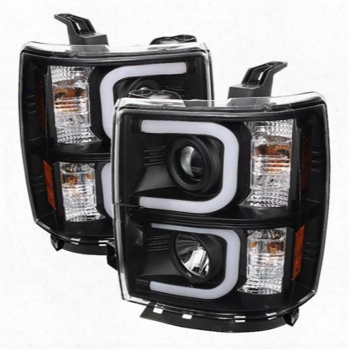 Spyder Auto Group Spyder Auto Group Projector Headlights (black) - 5079473 5079473 Hedalights, Housings And Conversions