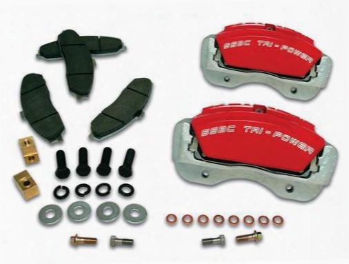 Stainless Steel Brakes Stainless Steel Brakes Quick Change V8 8-piston Aluminum Calipers - A193-1r A193-1r Disc Brake Caliper Upgrade