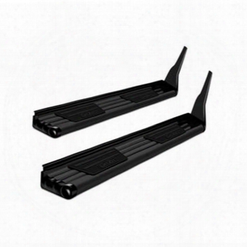 Dee-zee Dee Zee Fx Black Running Boards Quick Bracket System (black) - Fx11262 Fx11262 Running Board