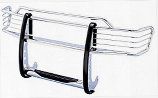 Go Rhino Go Rhino Sumatra 3000 Series Complete Stepguard Set (chrome) - 3217mc 3217mc Grille Guards