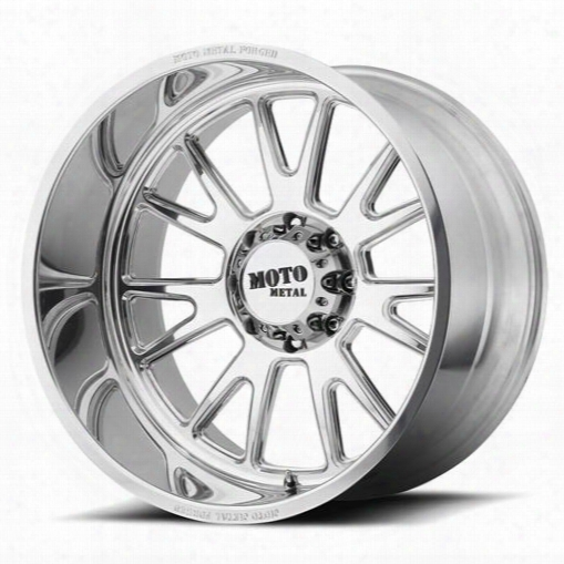 Moto Metal Moto Metal Mo401, 20x14 Wheel With 5x5.5 Bolt Pattern - Polished - Mo40120455176n Mo40120455176n Moto Metal Wheels