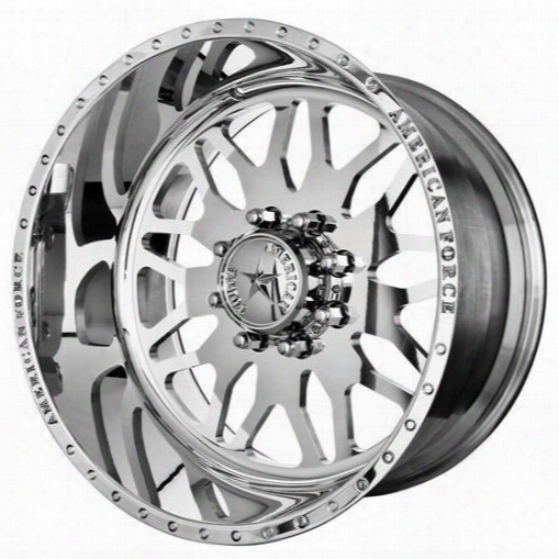 American Force Wheels American Force 20x14 Wheel Evo Ss - Polish- Aft30609 Aft30609 American Force Wheels