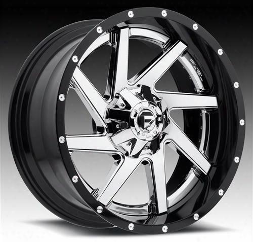 Mht Fuel Offroad Wheels Mht Fuel Offroad Renegade, 20x10 Wheel With 8 On 170 Bolt Pattern - Chrome - D26320001747 D26320001747 Mht Fuel Off Road Wheel