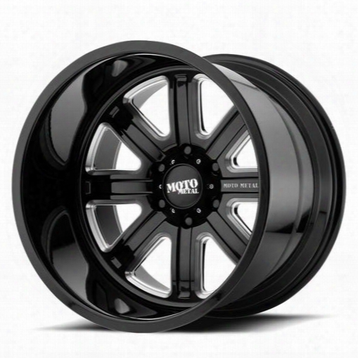 Moto Metal Moto Metal Mo402, 20x14 Wheel With 5x5 Bolt Pattern - Gloss Black - Mo40220450976n Mo40220450976n Moto Metal Wheels