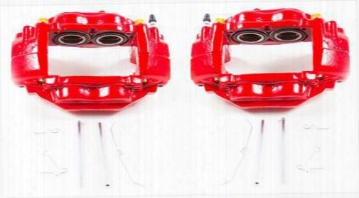 Power Stop Power Stop Power Stop Performance Powder Coated Calipers With Brackets - S3274 S3274 Disc Brake Caliper Brackets