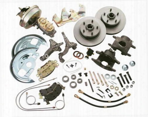 Stainless Steel Brakes Stainless Steel Brakes Drum To Disc Brake Conversion Kit (natural) - A123-1 A123-1 Disc Brake Conversion Kits