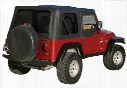 Rampage Rampage Replacement Soft Top (Black Diamond) - 99535 99535 Soft Tops