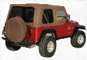Rampage Rampage Replacement Soft Top (Khaki Diamond) - 99536 99536 Soft Tops