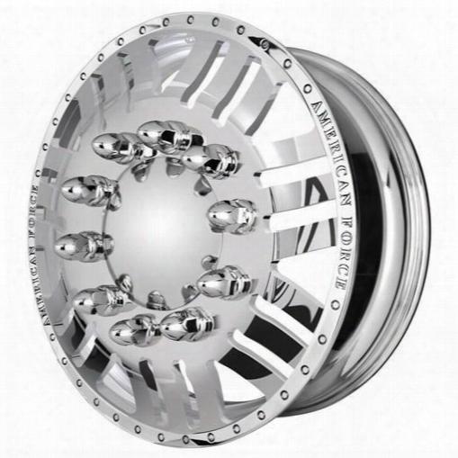 American Force Wheels American Force 22x8.25 Wheel Rush Kit - Polish - Af401737 Af401737 American Force Wheels