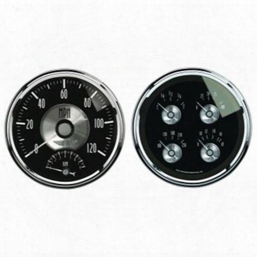 Auto Meter Auto Meter Prestige Series Black Diamond Quad Gauge/tach/speedo Kit - 2005 2005 Gauge Set