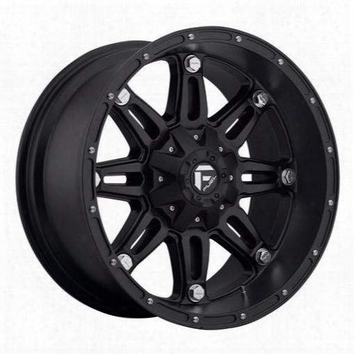 Mht Fuel Offroad Wheels Mht Fuel Offroad Hostage, 24x11 Wheel With 6 On 135 And 6 On 5.5 Bolt Pattern - Black Matte - D53124119850 D53124119850 Mht Fu