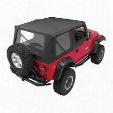 Rampage Rampage Replacement Soft Top (black Diamond) - 99735 99735 Soft Tops