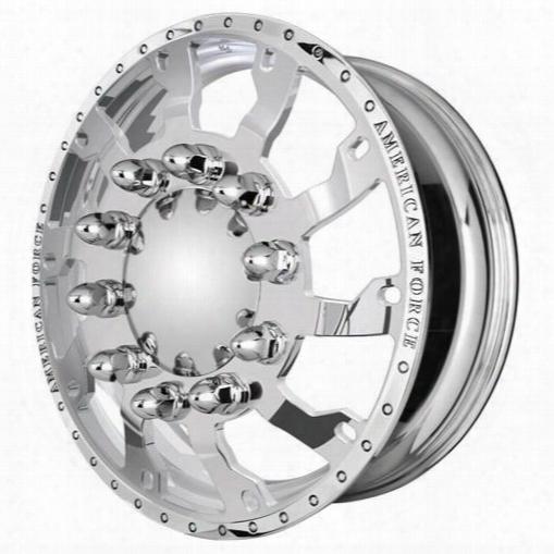 American Force Wheels American Force 22.5x8.25 Wheel Raptor Kit - Polish - Af201841 Af201841 American Force Wheels