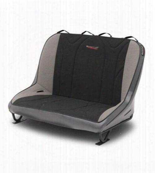 Mastercraft Safety Mastercraft Safety 40 Inch Rubicon Rear Bench Seat (smoke/ Black/ Gray) - 310062 310062 Seats