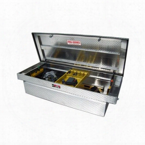 Westin Westin Brute Pro Series Full Lid Crossover Tool Box - 80-rb117fl 80-rb117fl Truck Bed Rail To Rail Toolbox