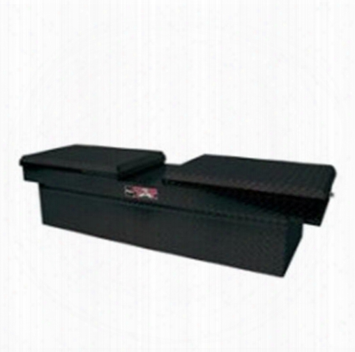 Westin Westin Brute Pro Series Full Lid Crossover Tool Box - 80-rb123fl-b 80-rb123fl-b Truck Bed Rail To Rail Toolbox