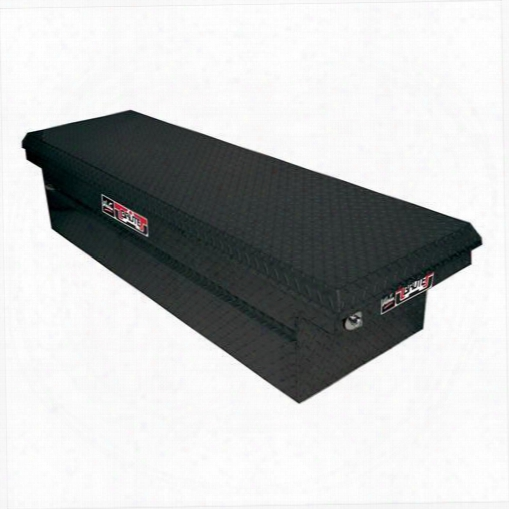 Westin Westin Brute Pro Series Full Lid Low Profile Crossover Tool Box - 80-rb121lp-b 80-rb121lp-b Truck Bed Rail To Rail Toolbox