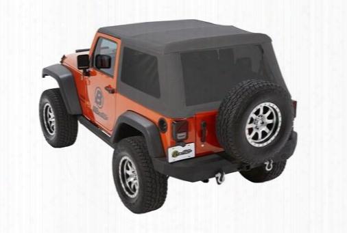 Bestop Bestop Trektop Nx Glide Soft Top With Tinted Windows (granite Gray) - 54922-70 54922-70 Soft Tops