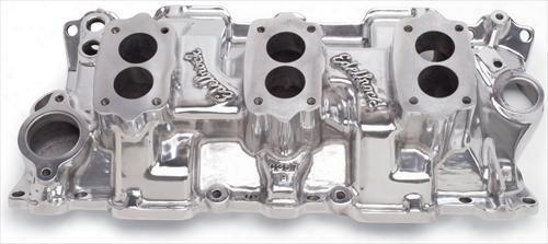 Edelbrock Edelbrock C357-b Three-deuce Intake Manifold - 54191 54191 Intake Manifold