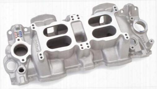 Edelbrock Edelbrock Performer Rpm Dual-quad Intake Manifold (natural) - 5408 5408 Intake Manifold