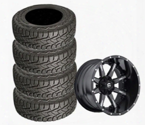 Genuine Packages Toyo 35x12.50r22 Open Country And D251 Nutz Wheel 22x10 Package - Set Of 4 - Tirepkg276 Tirepkg276 Tire And Wheel Packages