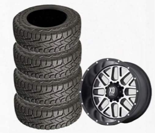 Genuine Packages Toyo 35x12.50r22 Open Country And Xd820 Wheel 22x10 Package - Set Of 4 - Tirepkg278 Tirepkg278 Tire And Wheel Packages