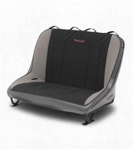 Mastercraft Safety Mastercraft Safety 40 Inch Rubicon Rear Bench Seat (smoke/ Black/ Gray) - 310086 310086 Seats