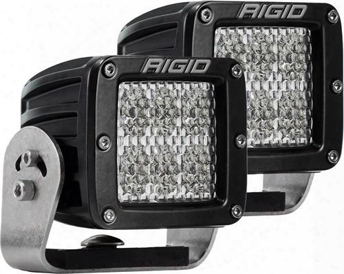 Rigid Industries D-series Dually Hd D2 60 Deg Diffusion Led Light 522513 Offroad Racing, Fog & Driving Lights