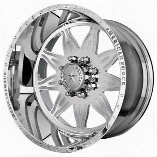 American Force Wheels American Force 22x10 Wheel Burst Ss - Polish- Aft41153 Aft41153 American Force Wheels