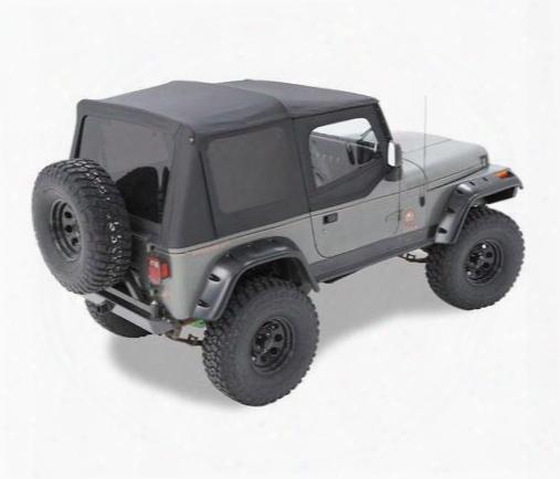 Bestop Supertop Nx Tinted Windows In Black 54601-01 - Jeep Soft Tops