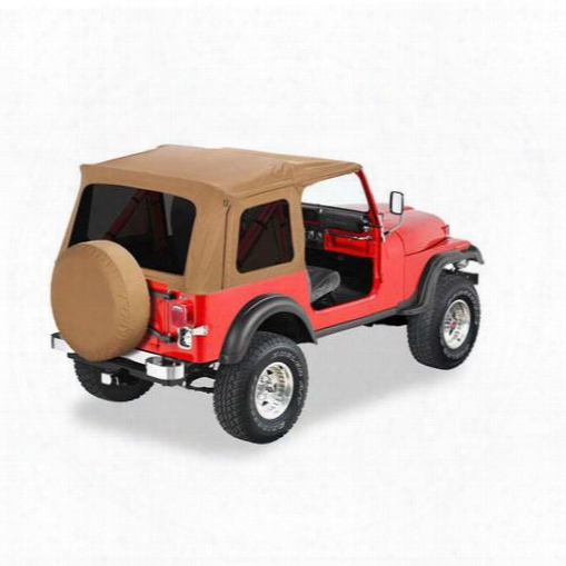 Bestop Supertop Tinted Windows No Doors 54599-37 - Jeep Yj Soft Tops