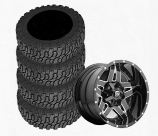 Genuine Packages Interco 40x14.50r22 M16 And Full Blown Wheel 22x14 Package - Set Of 4 - Tirepkg282 Tirepkg282 Tire And Wheel Packages